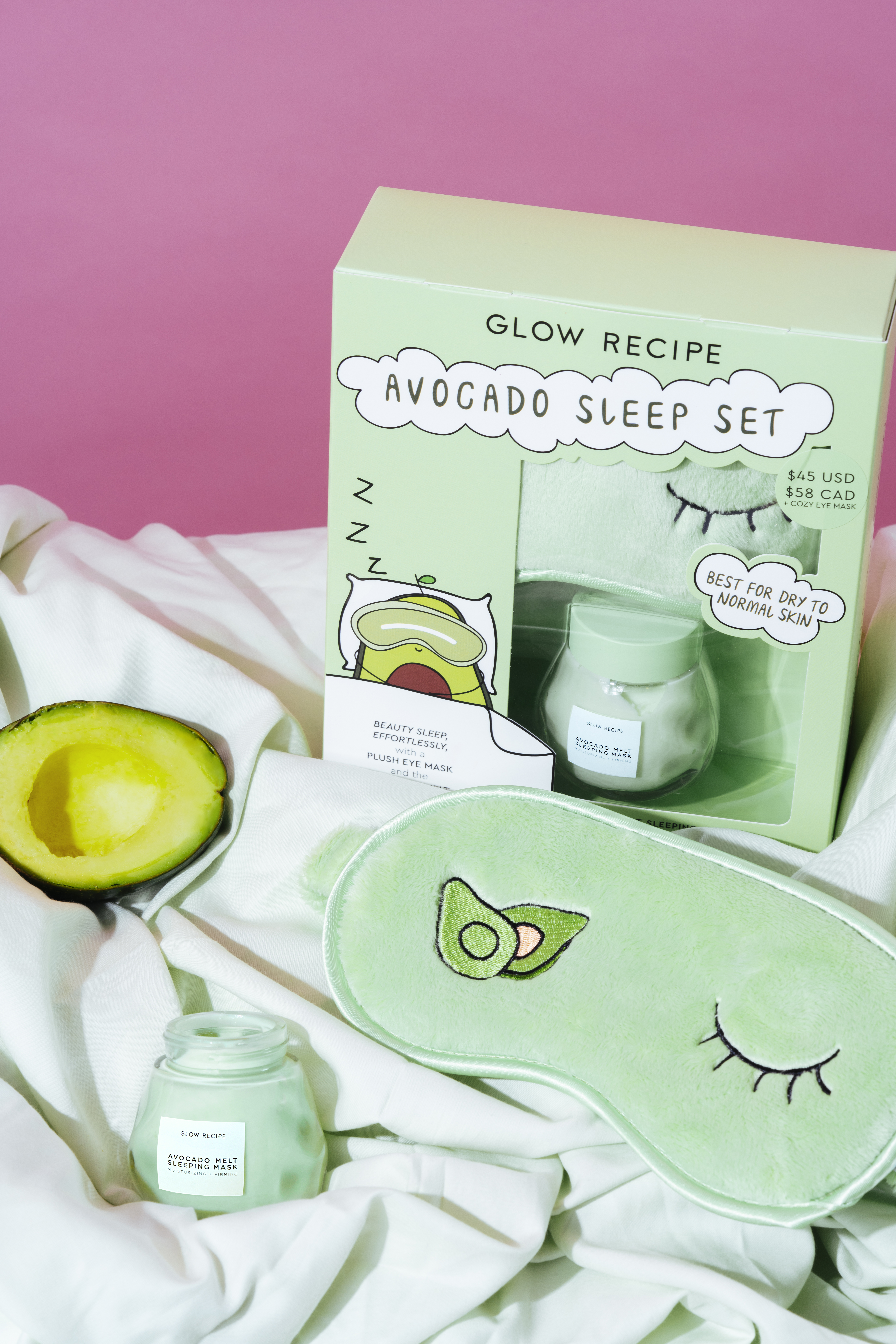 Avocado-Sleep-Set